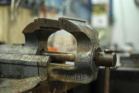 rusty metal vice 2