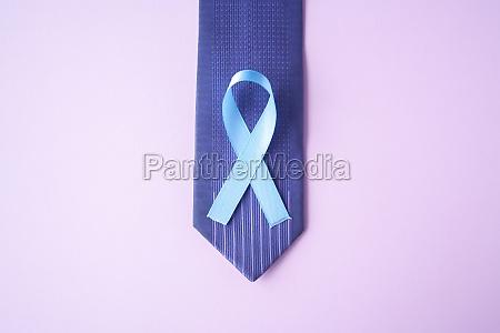 prostate cancer awareness light blue ribbon